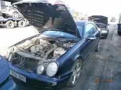 mercedes clase clk (w208) coupe 200 compressor (evo) (208.344)  2.0 compresor cat (163 cv) 2001-2002  WDB2083441F