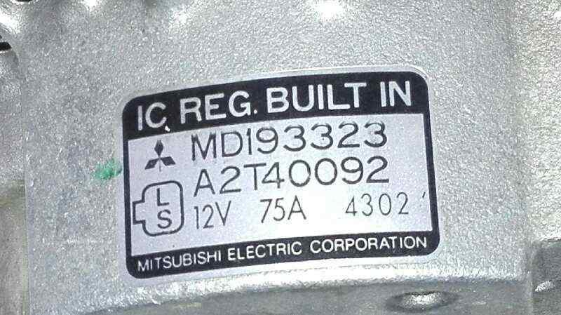 ALTERNADOR MITSUBISHI COLT (CA0) 1600 16V GLXI Malibu  1.6 16V CAT (113 CV)     05.95 - ..._img_2