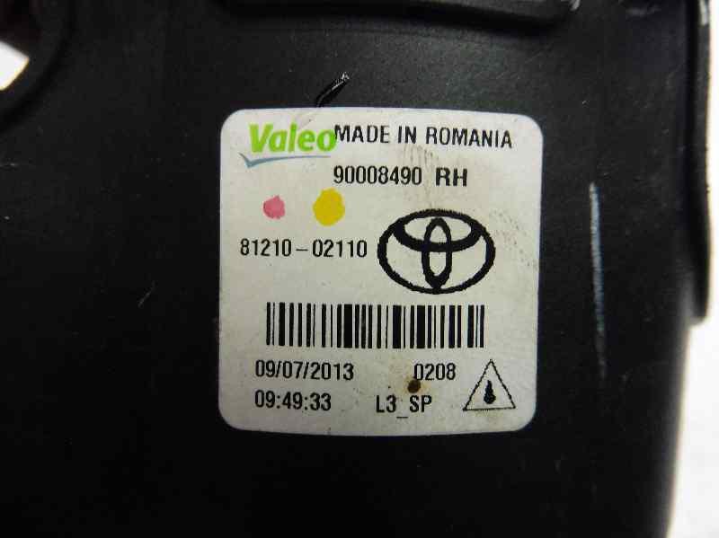 FARO ANTINIEBLA DERECHO TOYOTA AURIS Hybrid Advance  1.8 16V (Híbrido) (99 CV) |   09.12 - 12.15_img_1