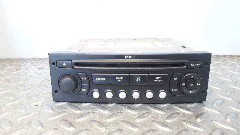 SISTEMA AUDIO / RADIO CD CITROEN C4 BERLINA Collection  1.6 16V HDi (90 CV) |   06.04 - 12.08_img_0