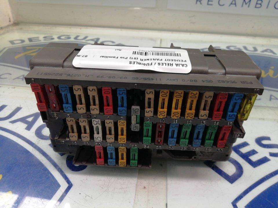 CAJA RELES / FUSIBLES PEUGEOT PARTNER (S1) Pro Familiar  1.9 Diesel (69 CV) |   07.96 - 12.02_img_0