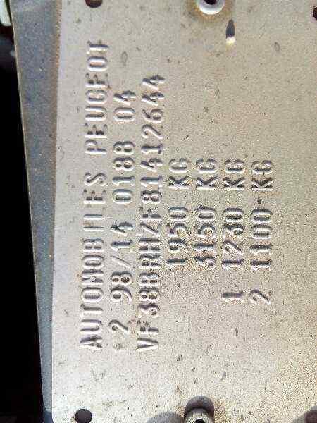 CERRADURA PUERTA TRASERA DERECHA  PEUGEOT 406 BERLINA (S1/S2) STDT  2.0 HDi (109 CV) |   10.98 - 12.04_img_3