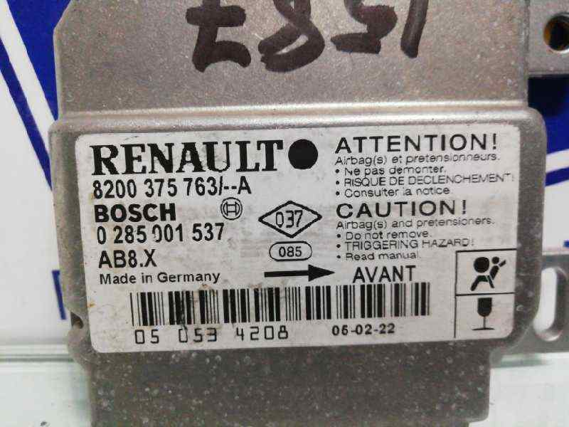 CENTRALITA AIRBAG RENAULT CLIO II FASE II (B/CB0) Authentique  1.2 16V (75 CV) |   0.01 - ..._img_1