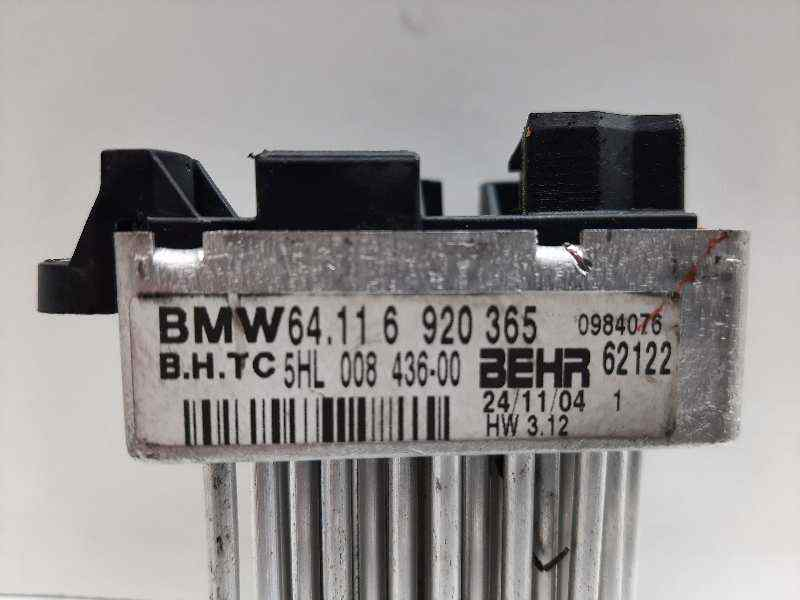RESISTENCIA CALEFACCION BMW SERIE 3 TOURING (E46) 320d  2.0 16V Diesel CAT (150 CV)     03.03 - 12.06_img_0