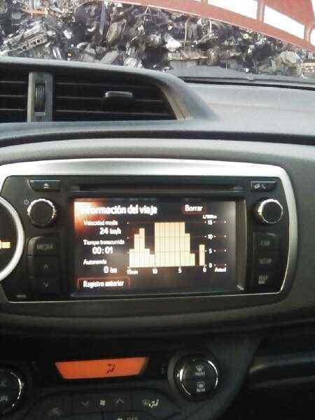 SISTEMA AUDIO / RADIO CD TOYOTA YARIS TS  1.4 Turbodiesel CAT (90 CV) |   11.08 - 12.10_img_0
