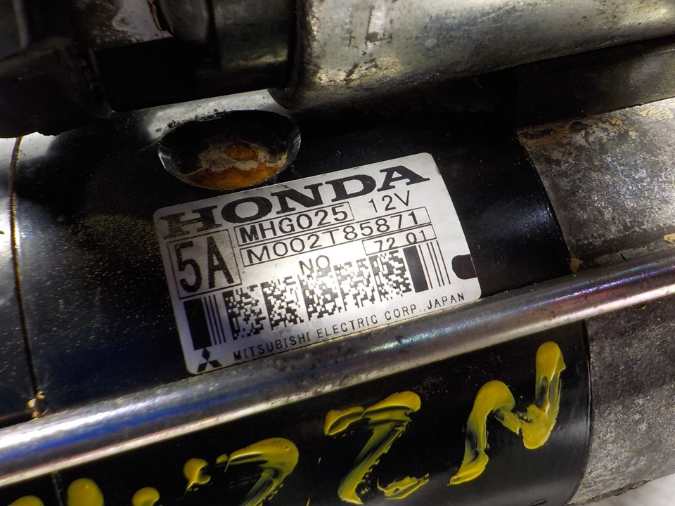MOTOR ARRANQUE HONDA CIVIC BERLINA 5 (FK) 2.2 i-CTDi Comfort   (140 CV) |   09.05 - 12.12_img_3