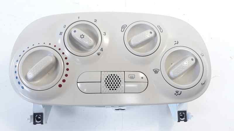 MANDO CALEFACCION /  AIRE ACONDICIONADO FIAT NUOVA 500 (150) Lounge  1.2 CAT (69 CV) |   08.07 - 12.15_img_0