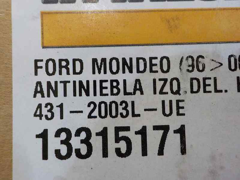 FARO ANTINIEBLA IZQUIERDO FORD MONDEO BERLINA (GE) Ambiente  1.8 CAT (110 CV) |   09.00 - 12.03_img_3