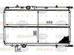 RADIADOR AGUA PEUGEOT 206 BERLINA XT  2.0 HDi CAT (90 CV)     12.99 - 12.05_mini_3