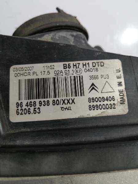 FARO DERECHO CITROEN C4 BERLINA Collection  1.6 16V HDi (90 CV) |   06.04 - 12.08_img_3