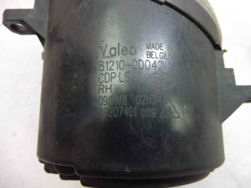 FARO ANTINIEBLA DERECHO TOYOTA YARIS TS  1.4 Turbodiesel CAT (90 CV) |   11.08 - 12.10_img_2