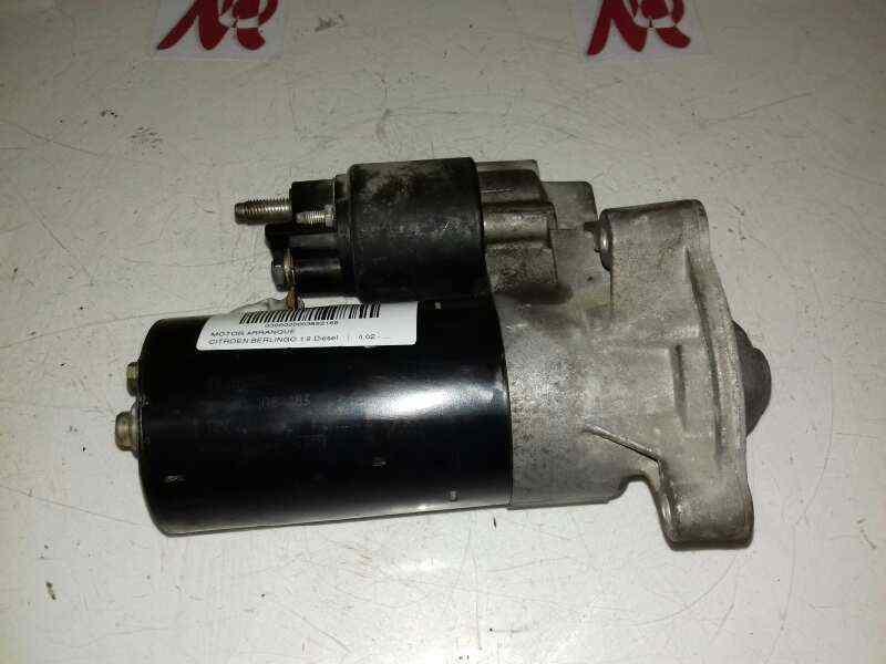 MOTOR ARRANQUE CITROEN BERLINGO 1.9 Diesel   (69 CV) |   0.02 - ..._img_0