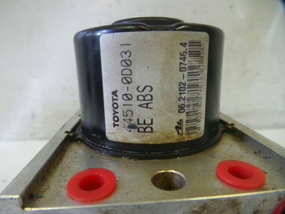 ABS TOYOTA YARIS (KSP9/SCP9/NLP9) Básico  1.4 Turbodiesel CAT (90 CV)     08.05 - 12.08_img_1